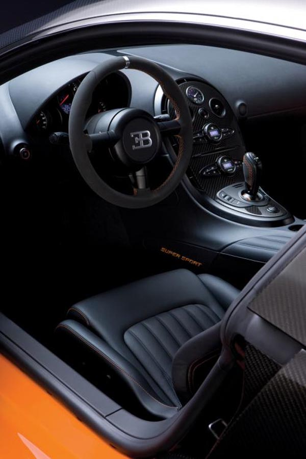Cars World Bugatti Veyron Interior