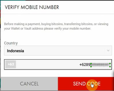 Cara Verifikasi Xapo Wallet