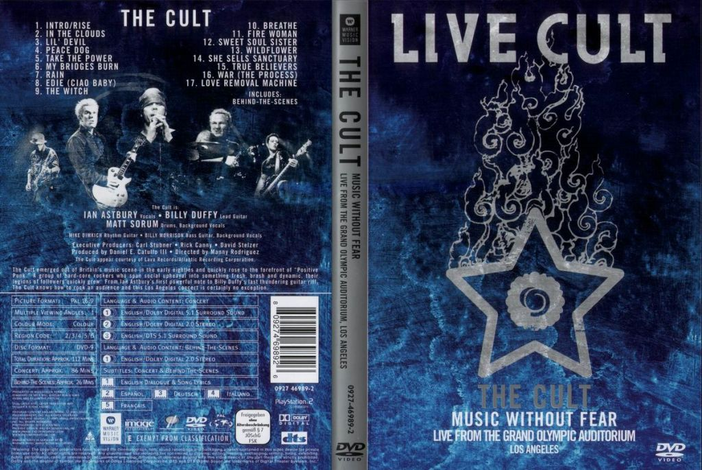 The Cult Live At The Lyceum London 20th May 1984