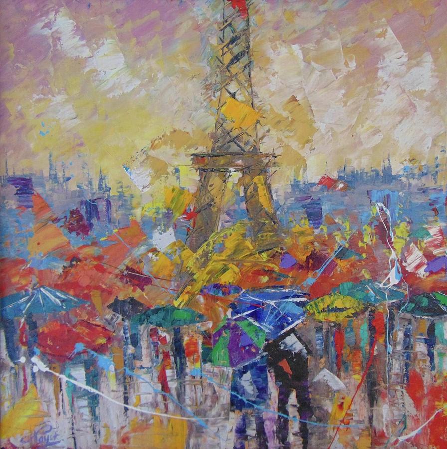 Frederic Payet Paris sous la pluie