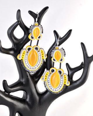sutasz kolczyki soutache earrings 1a