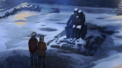 Monumenti ai Potter a Godric's Hollow, nei Doni della Morte