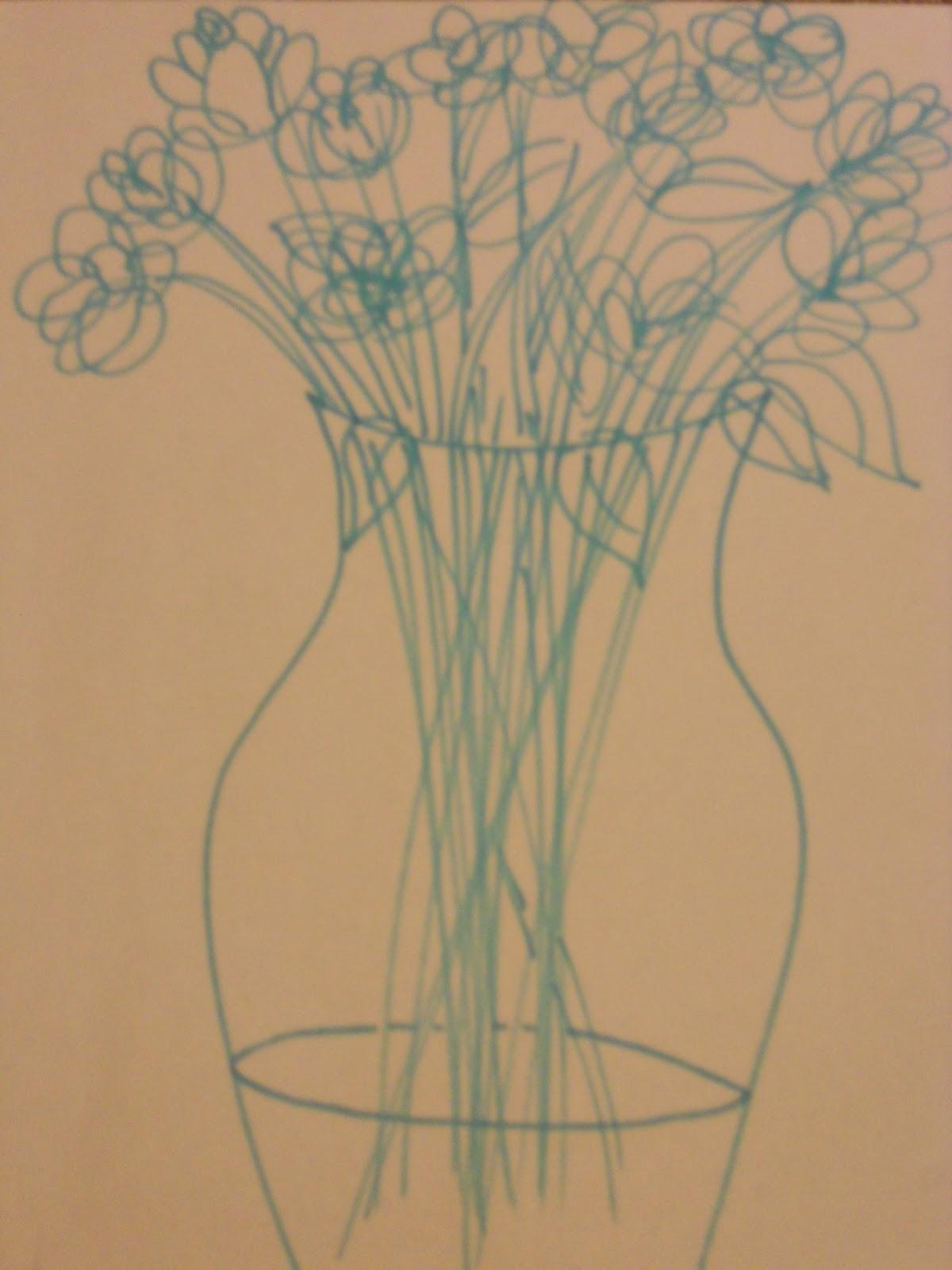 Contour Line Drawing Quiz : Abigail s art quick contour line and lyrical