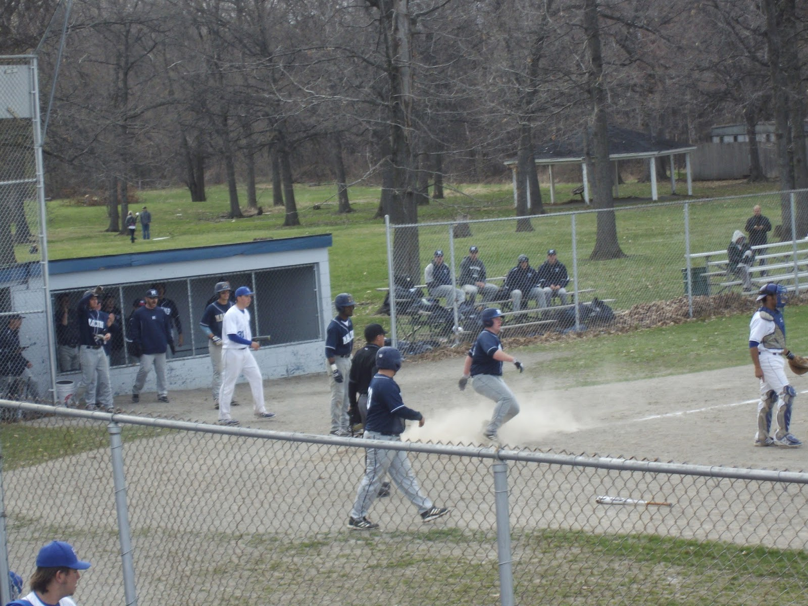 mitten state sports report: college baseball hfcc vs. mcc