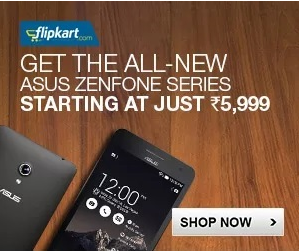 Asus Zenphone at Just Rs. 5999/-