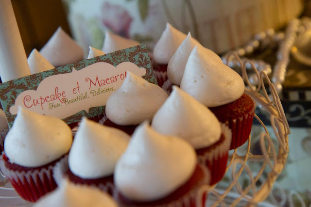 montreal red velvet wedding cupcakes