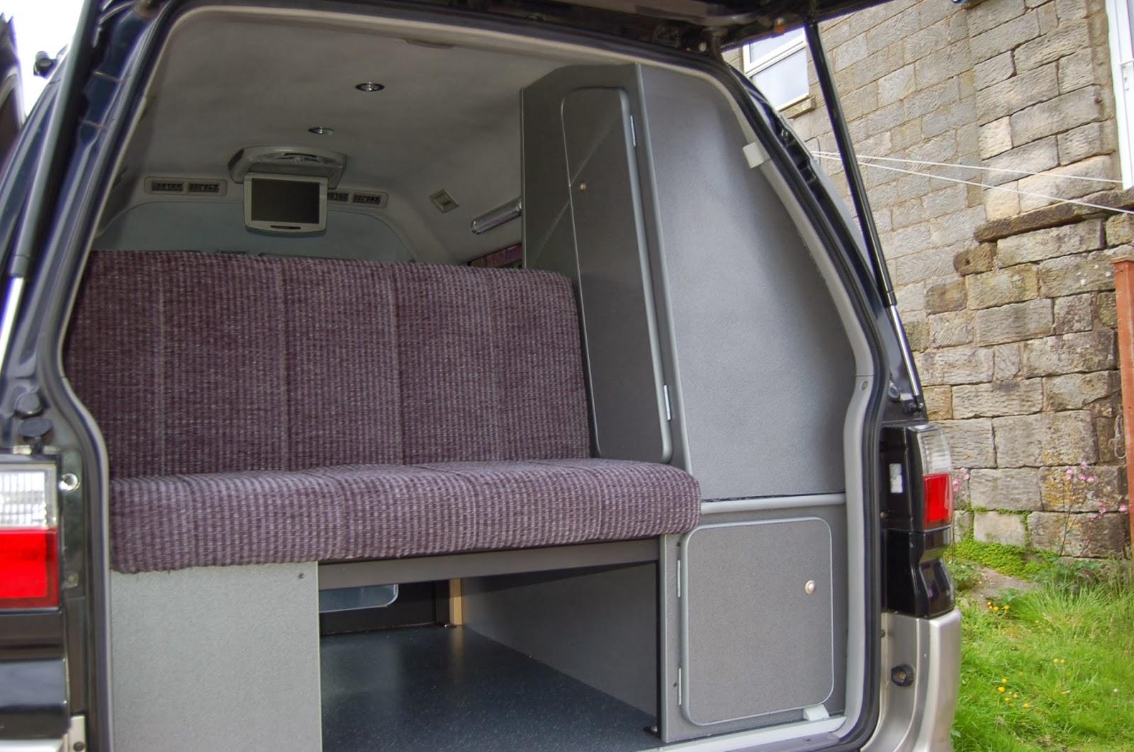 Hiace hobo living in a toyota camper van