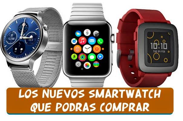 comprar smartwatches en el 2015