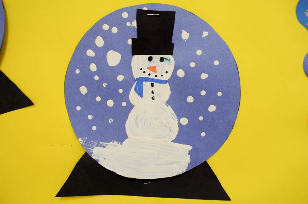 mrs ricca 39 s kindergarten snow globe craft