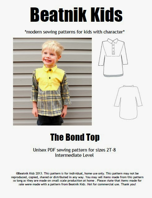 boy sewing pattern