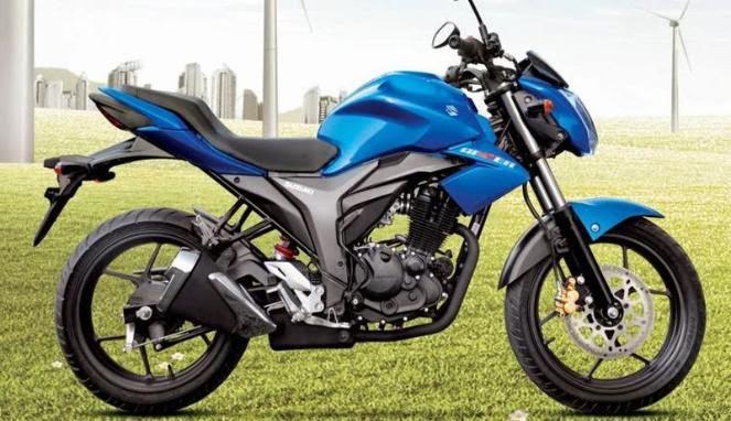 Foto Suzuki Gixxer 150 Motor Terbaru 2015