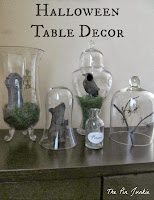 Halloween table decor dollar tree