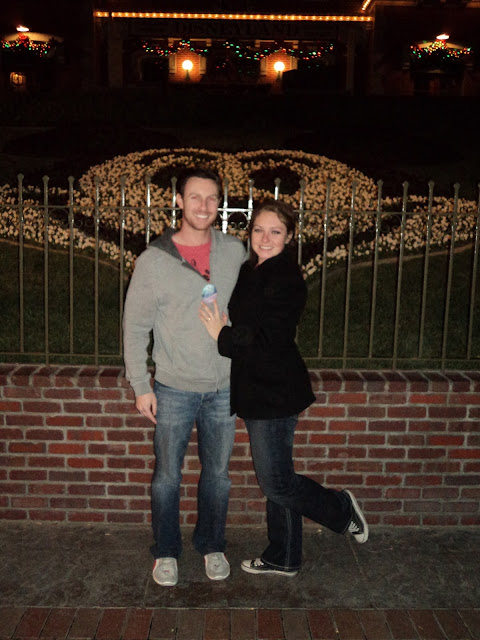 Real Disneyland Proposal - Ashley and Steve
