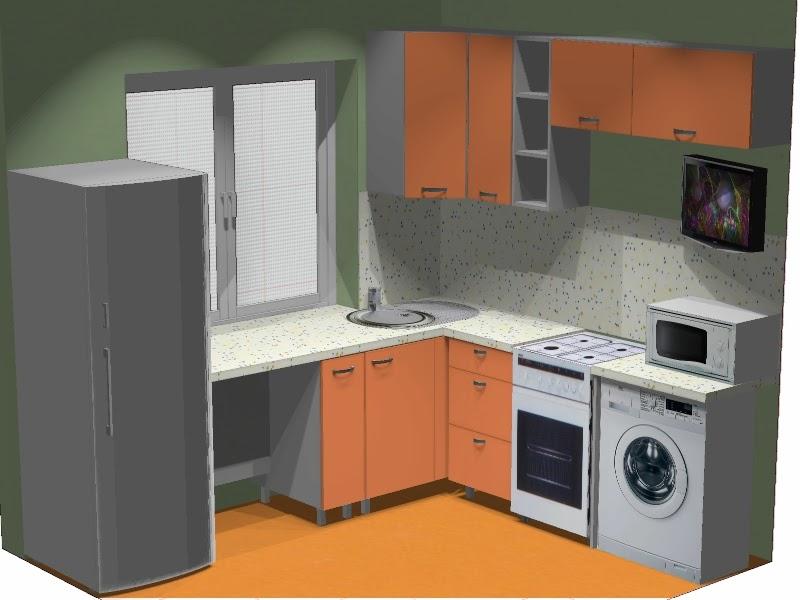 Маленькая кухня: секреты увеличения рабочего пространства