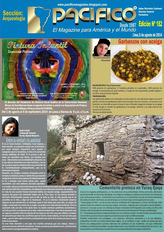 Revista Pacífico Nº 182 Arqueología
