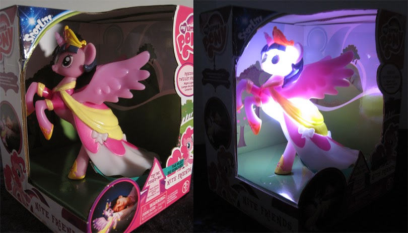 My Little Pony: Friendship is Magic Nite Friends Princess Twilight Sparkle figurine.
