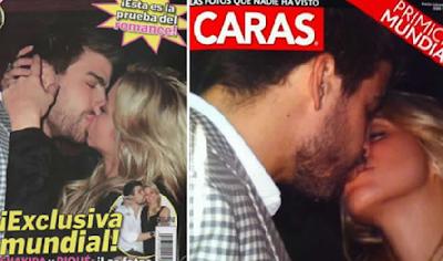 Foto De Shakira Besándose Con Pique
