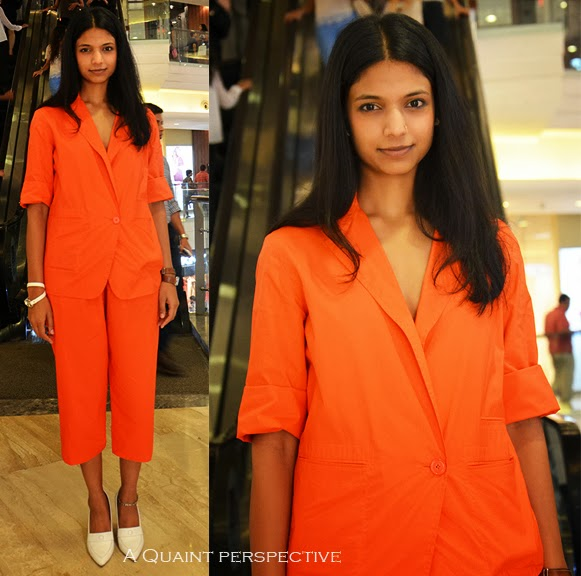 Slated as the hottest colour this season, Tangerine is a color that spells danger