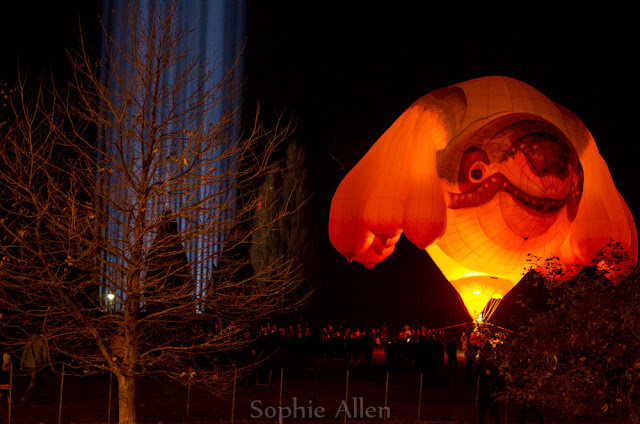 Light in Thine own Eye (Spectra) and Skywhale