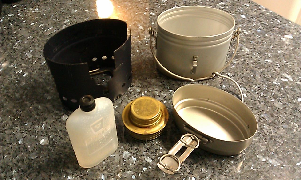 Swedish Army Mess Kit