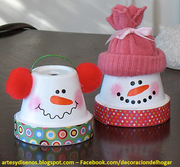 Como hacer adornos navide os caseros - Como realizar adornos navidenos ...