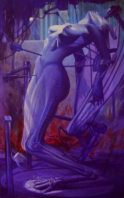 Adrian Borda deviantart pinturas surreais sensuais