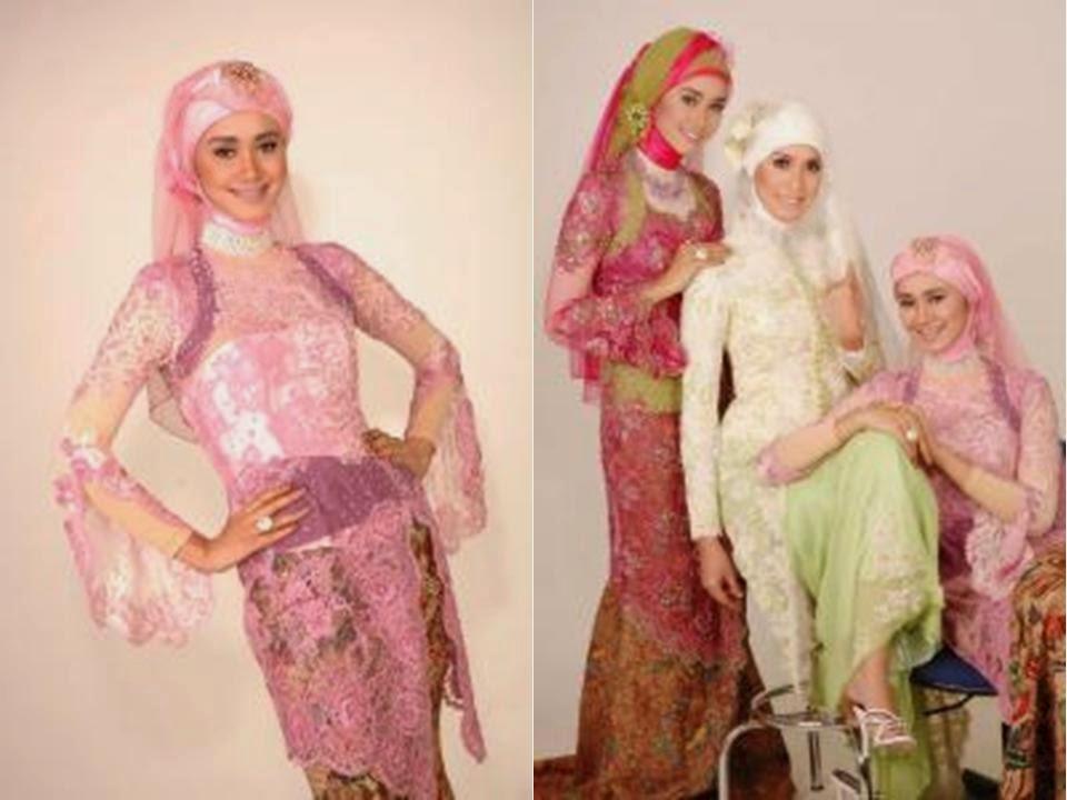 Gambar Baju Kebaya Muslim Terbaru Pesta Pernikahan