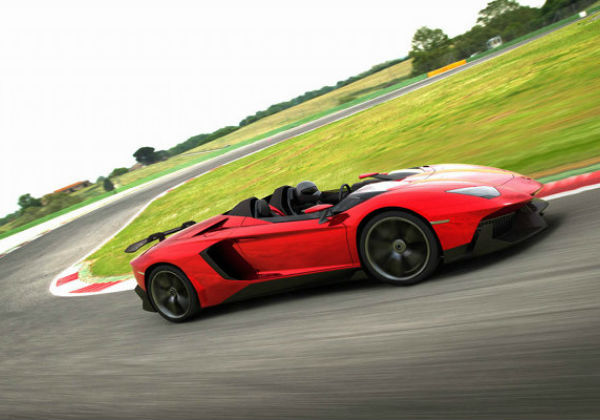 ... The Lamborghini Aventador J Roadster Makes Helmet Safety A Requirement.  This Might Even Present A Greater, Pure Driving Experience Than The  Original, ...