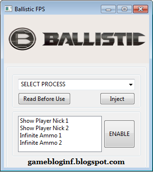 Ballistic FPS Hack Update 2015