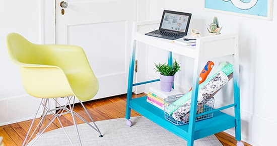 Diy mesa auxiliar 3 opciones de usarla la garbatella for Mesa auxiliar estilo nordico