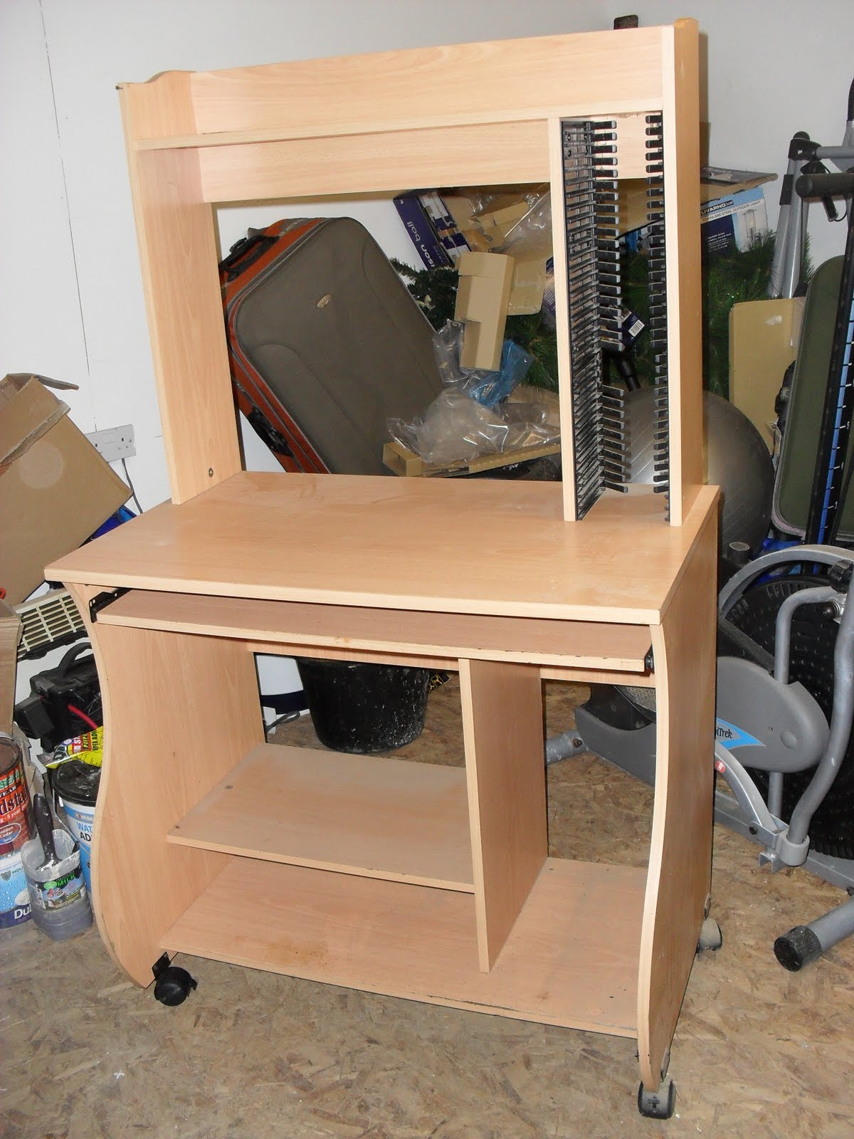 coach house crafting on a budget furniture makeover computer desk