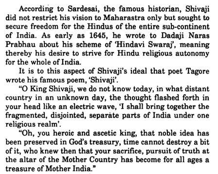 puputupu ravindranath tagore s poem on chhatrapati shivaji maharaj translated by narendra