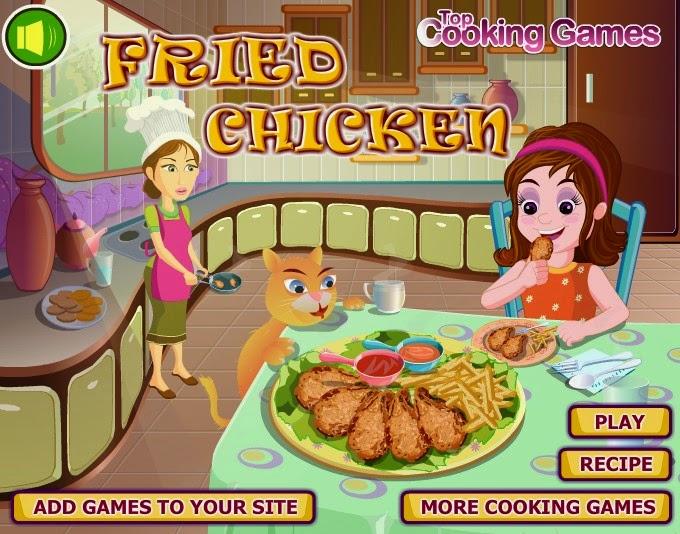 Permainan Memasak Ayam Goreng Lezat