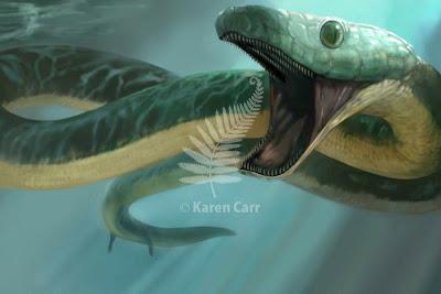 serpiente marina prehistorica Pachyrhachis