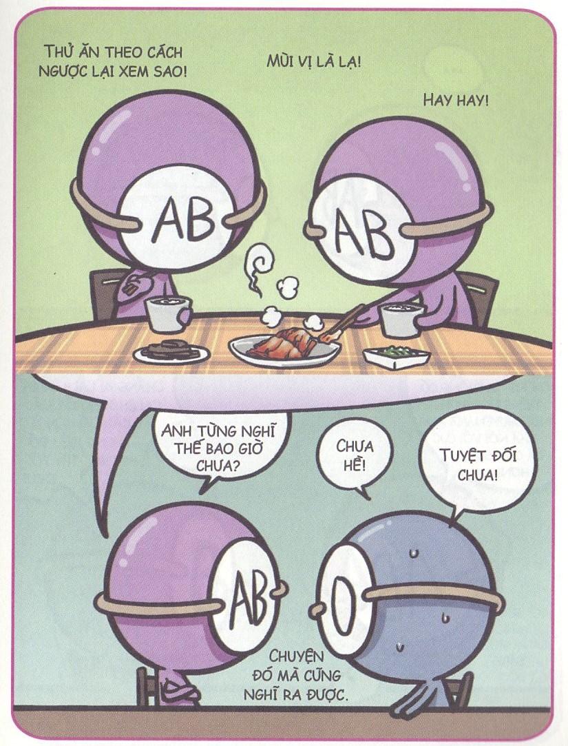 Khi nhóm máu AB chết vì tò mò