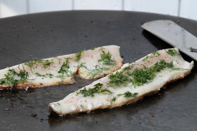 siika paisto grillissä, kalan paisto muurikalla