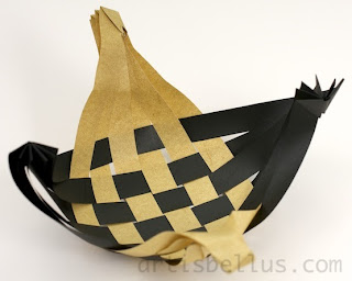 Origami Decorations: Woven Dish