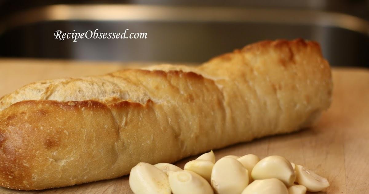 Roasted Garlic Bread #Recipe | Recipe Obsessed