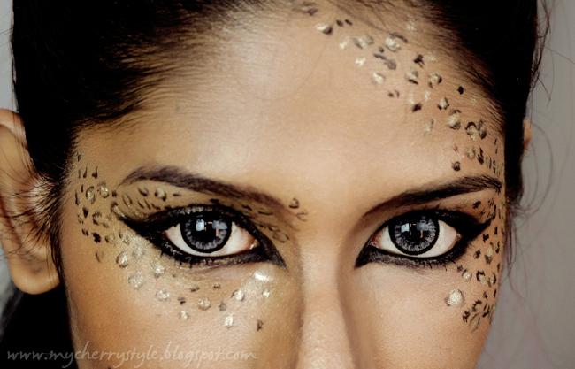 Creative Makeup: Leopard Print Smokey eye tutorial