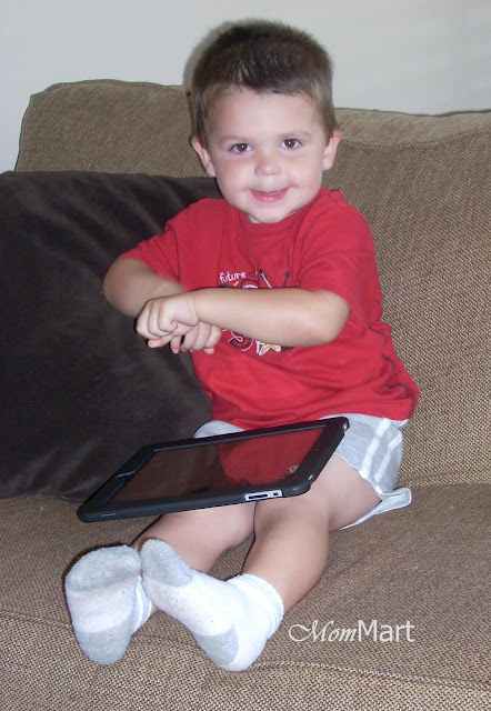 My toddler and the iPad