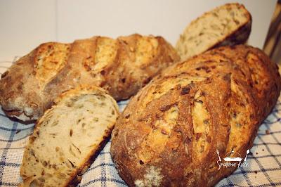 chleb z porem