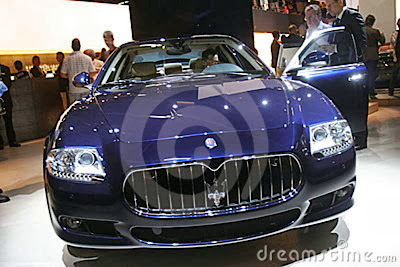 luxury maserati car
