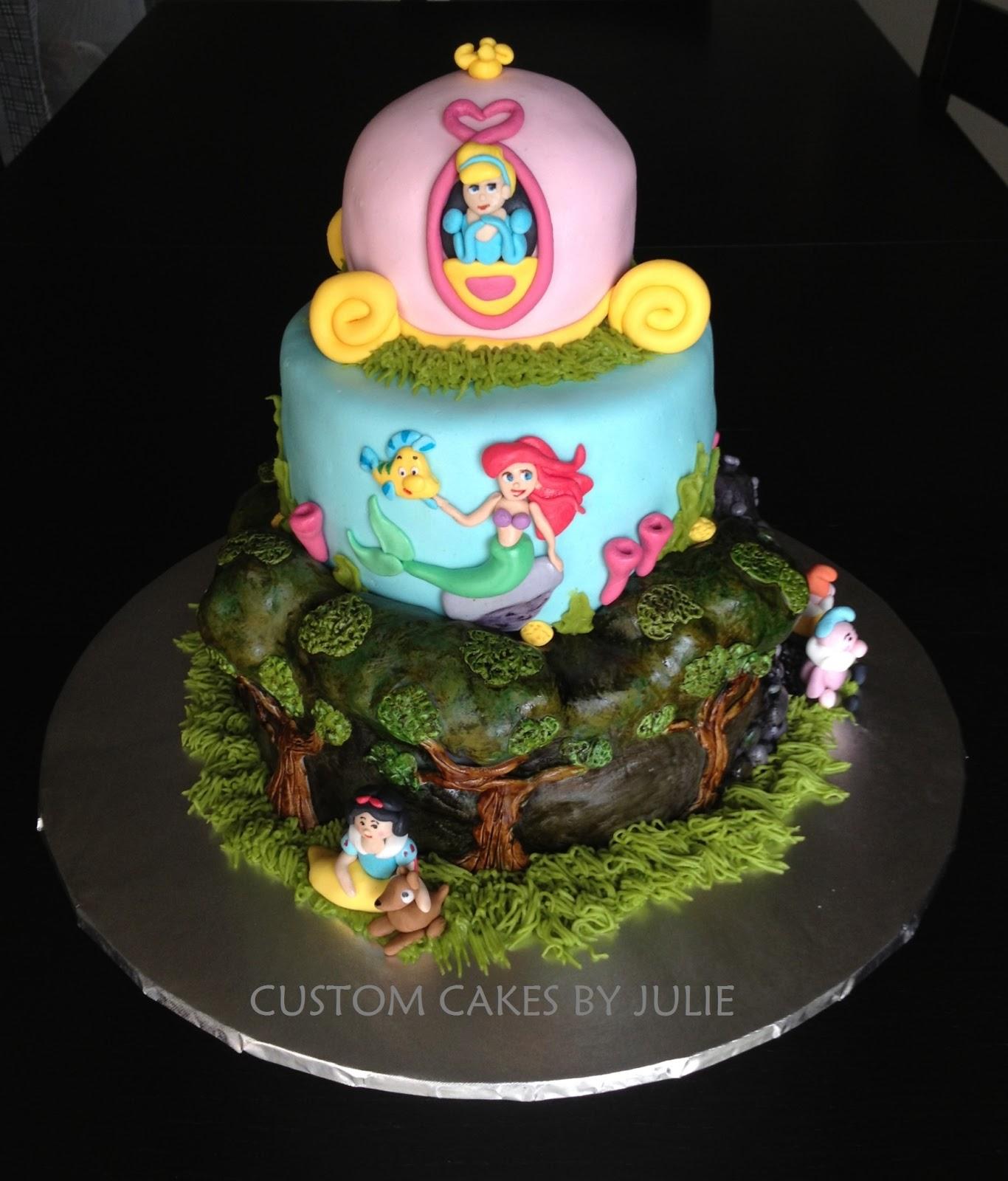 Disney Cinderella Cake Topper
