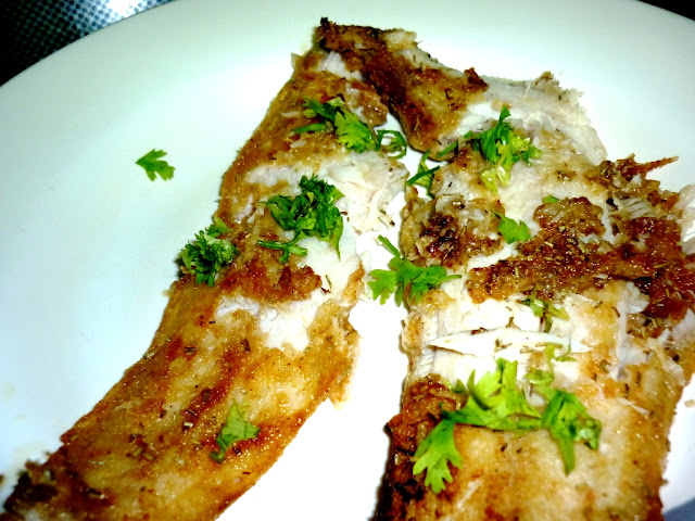 Quick and easy Recipe for sole fish fry.