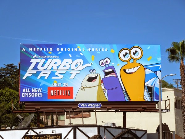 Turbo FAST season 1 Netflix billboard