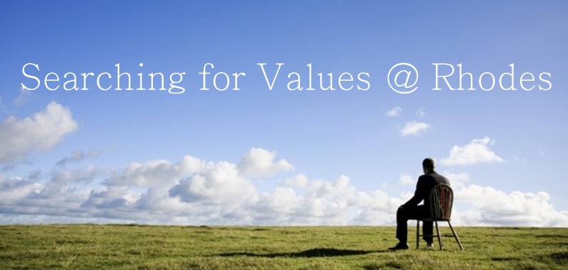 Searching for Values at Rhodes