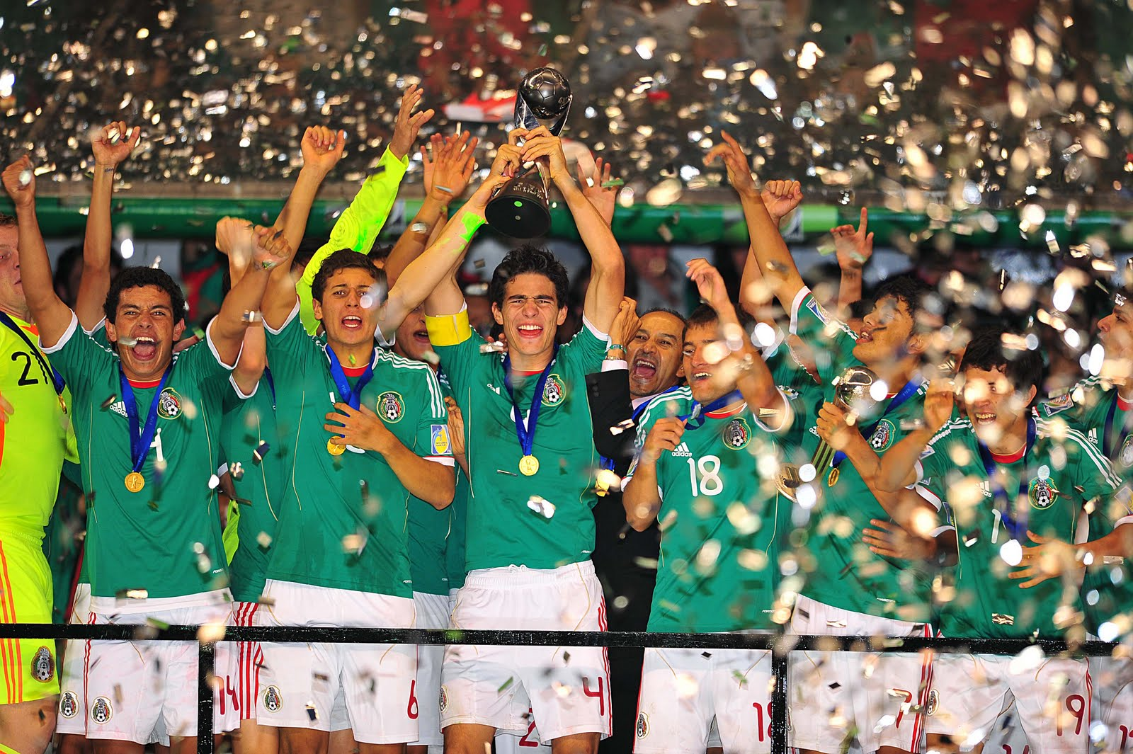 Fotos mexico campeon copa oro 2009