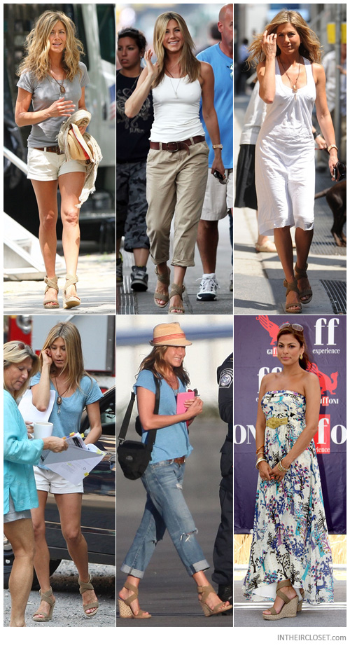 The Heel Deal Jennifer Aniston In Wedges