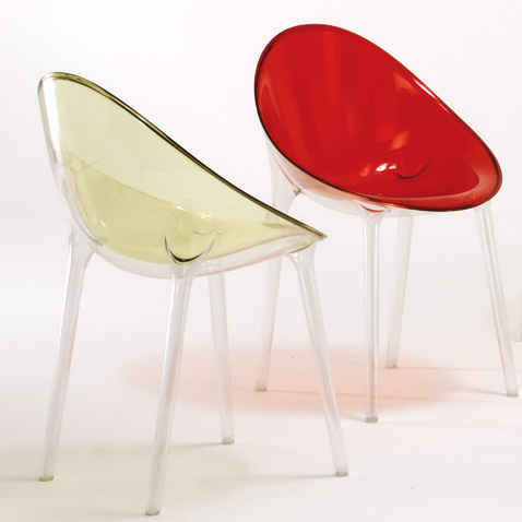 Modern plastic chair designs