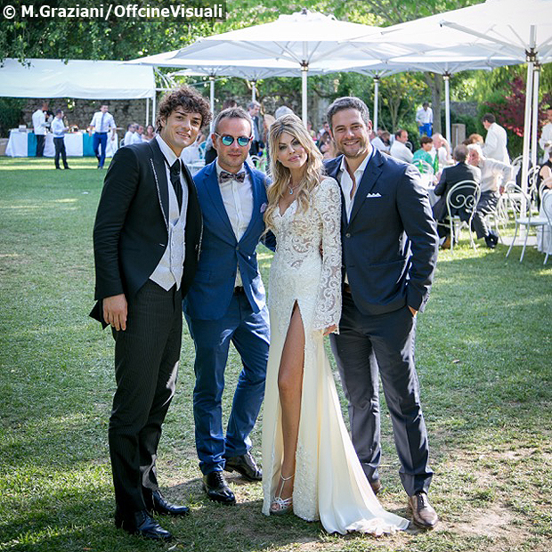 Micol Azzurro Matrimonio : Oggi sposi matrimonio micol azzurro e matteo contini